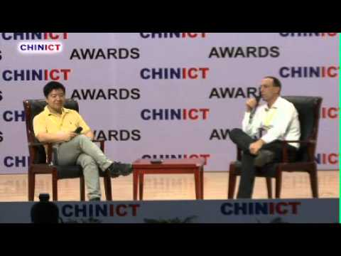 Serial entrepreneur & investor Nick Yang 杨宁 Speaks at the 8th CHINICT in Beijing.