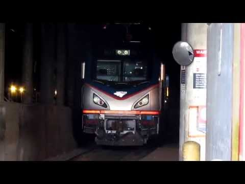 Amtrak Train 79 DC Power Change with #607 and #181