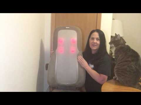 Homedics Quad Heated Massage Cushion Review ~ Is it a Body in Crisis Best Friend?