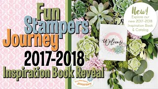 Fun Stampers Journey 2017-2018 Inspiration Book Reveal thumbnail