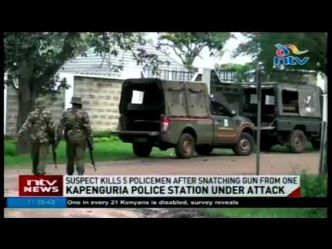 Five police officers feared dead in Kapenguria police station attack