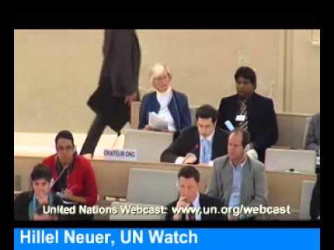 UN Watch's Hillel Neuer slams Iran & Saudi Arabia on Women's Rights