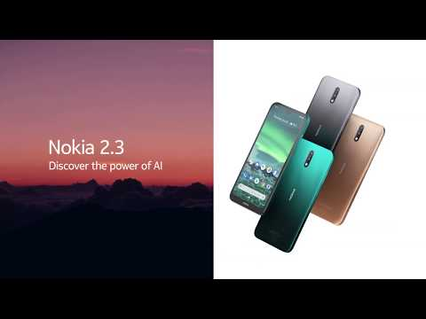 Step up to more with the new Nokia 2.3