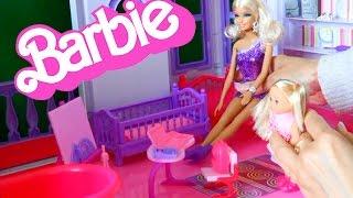 Барби, сестричка Челси собираеться в школу серия 14 Приключения Барби на русском