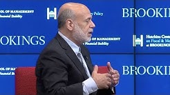Ben Bernanke on how he thinks about the financial crisis