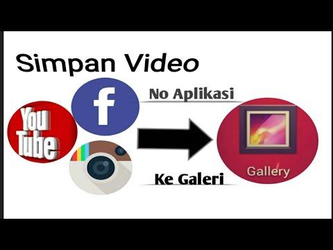 Cara Simpan Atau Download Video Di FB Dengan Mudah Dan Cepat Tanpa Aplikasi