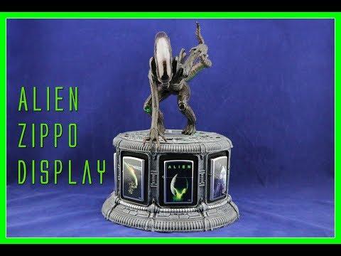Alien Zippo Lighter Display Unboxing | Bradford Exchange | Guru Reviews