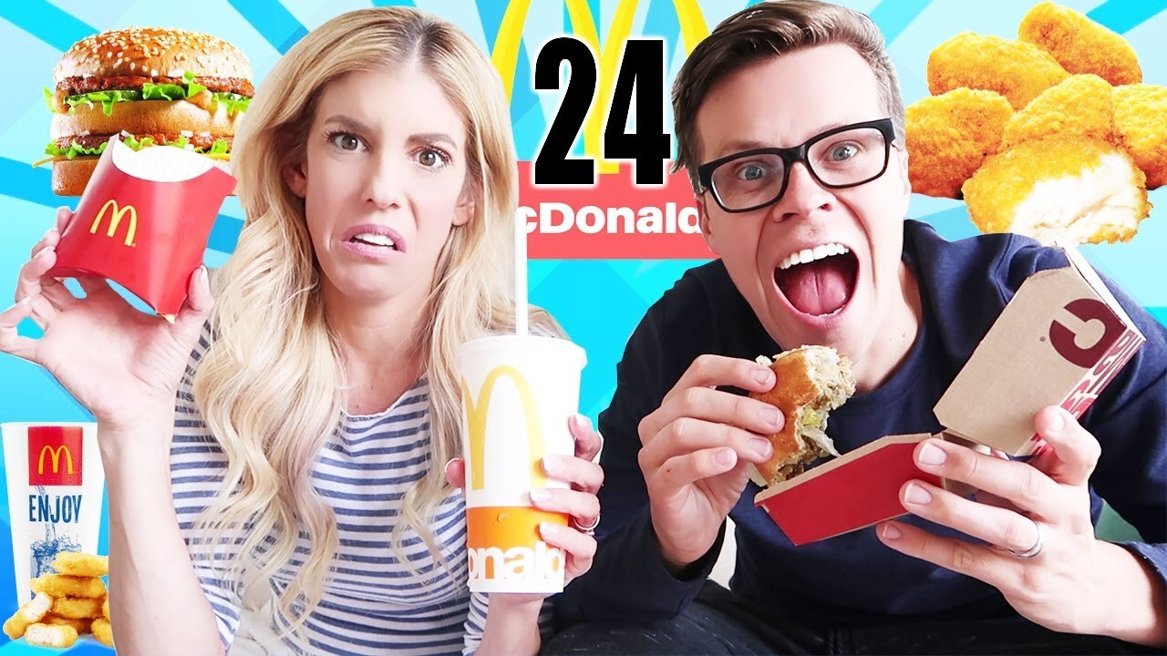 We Only Ate Fast Food Vs Real Food For 24 Hours