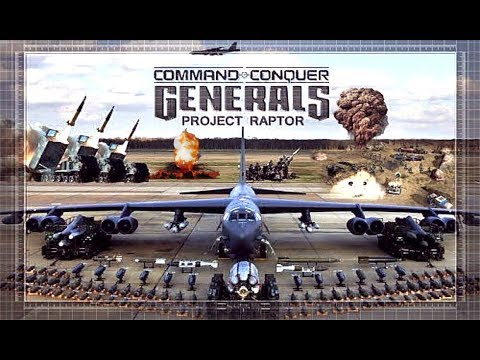 C&C Generals Project Raptor 9 | Strongest Air Forces Of The World | Real Time Strategy