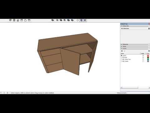 Cara Menghitung Material pengerjaan Cabinet (Plywood Material)