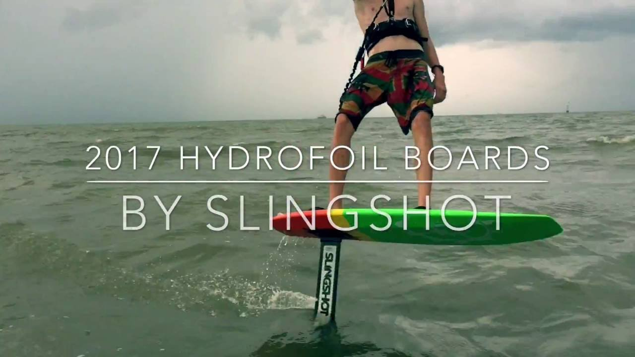 2017 Slingshot Hydrofoil Boards