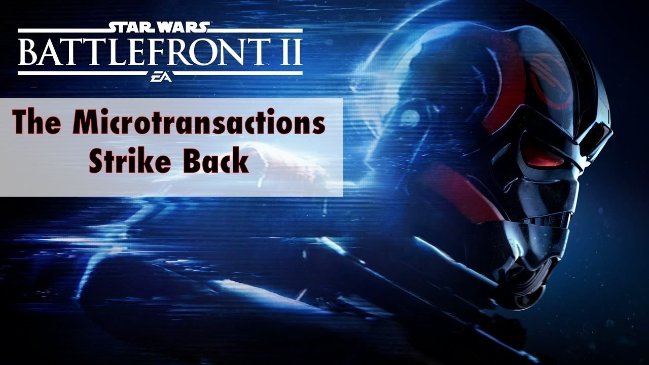 The microtransactions circus for Battlefront 2 continues