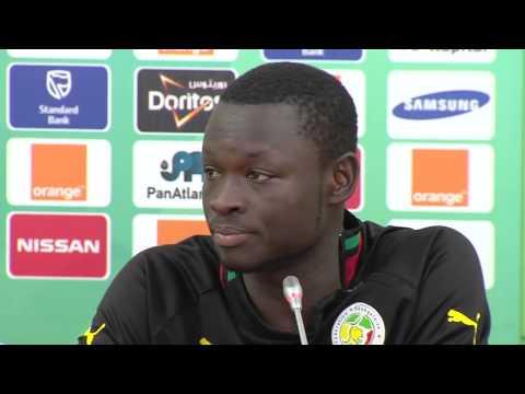 Sénégal   Conférence de presse 27 01   Orange Africa Cup , EQUATORIAL GUINEA 2015   YouTub