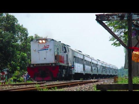 High Speed Train Compilation - Kompilasi Kereta Api Ngebut