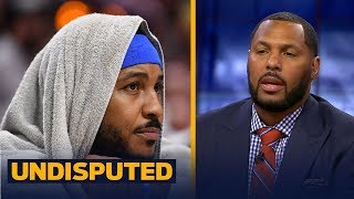 Eddie House: Melo needs to 'swallow his pride' for the Rockets to be successful | NBA | UNDISPUTED