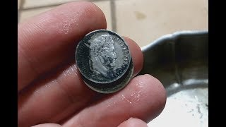 Коп удался монеты серебром