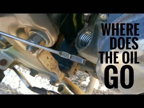 At last it eating the oil 😥 where does the oil go ? ( Explained )