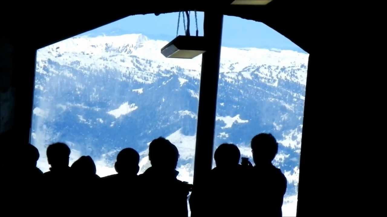 Eigerwand Railway Station From Jungfraubahn Youtube