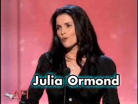 Julia Ormond At the Sean Connery AFI Life Achievement Award
