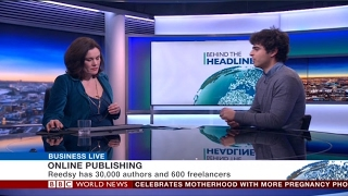 Reedsy on BBC World News - February 2017