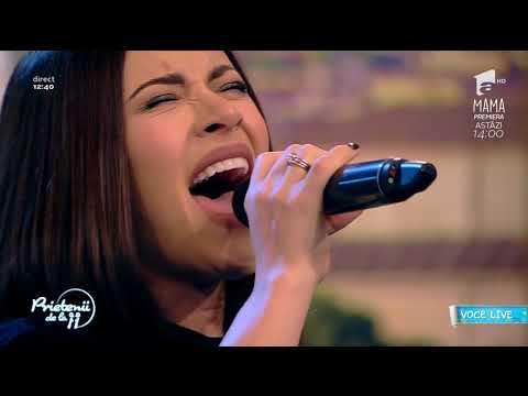 Nicoleta Nucă a interpretat, live, melodia Ai uitat cine ești
