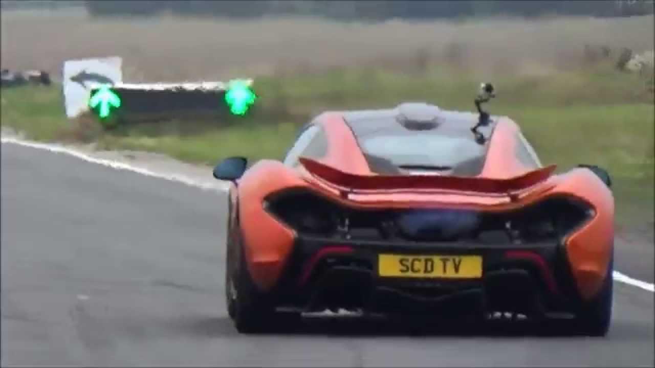 Exceptionnel McLaren P1 Exhaust Flames U0026 Heat Haze