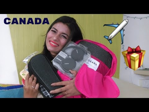 GIFTS ALL THE WAY FROM CANADA | 2017