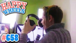 WARUM HABE ICH REWI EIN EI AUF DEN KOPF GESCHLAGEN?! ✪ Happy Wheels #658