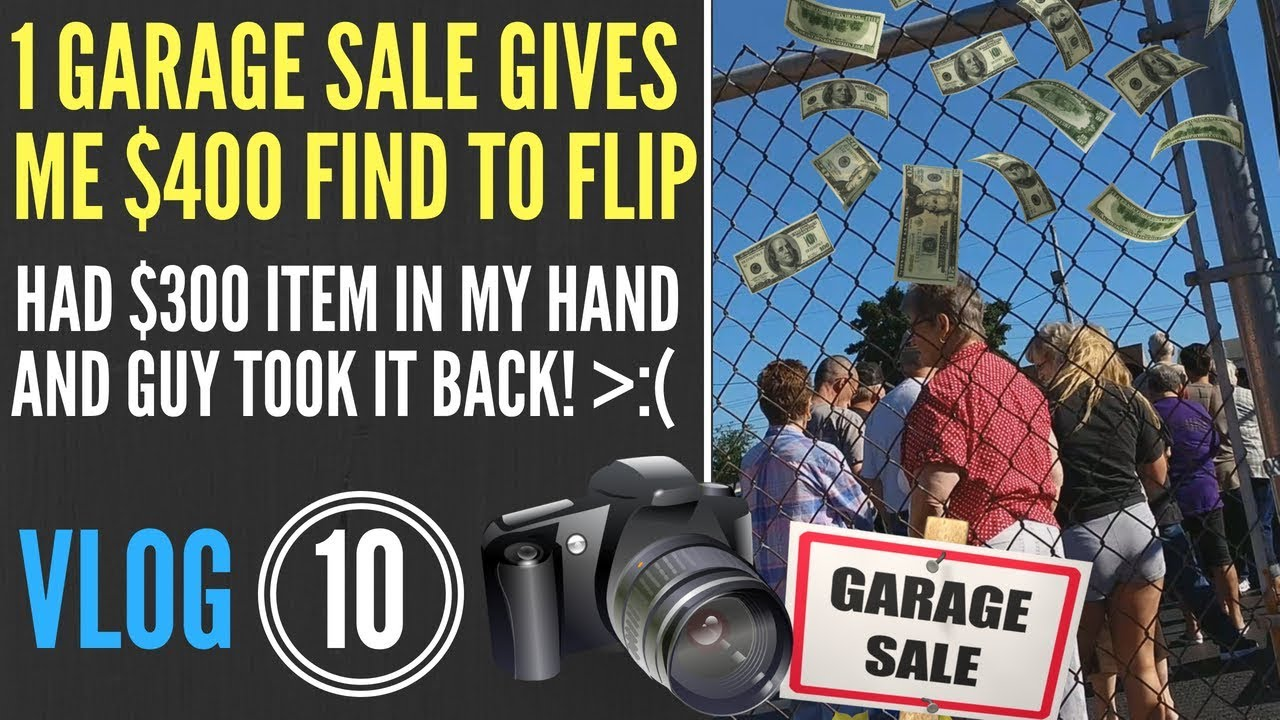 Big Church Rummage Sale and Garage Sale Finds to Sell on Ebay and Amazon FBA