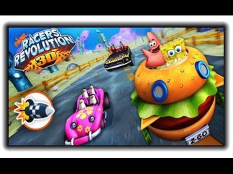 Nick Racers Revolution 3D - Spongebob Games