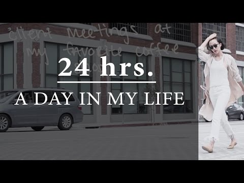 24 Hours With Me   A Day in My Life   Chriselle Lim