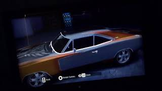 Need for Speed: Carbon (Wii version) Angie's Dodge Charger R/T (camera pan)