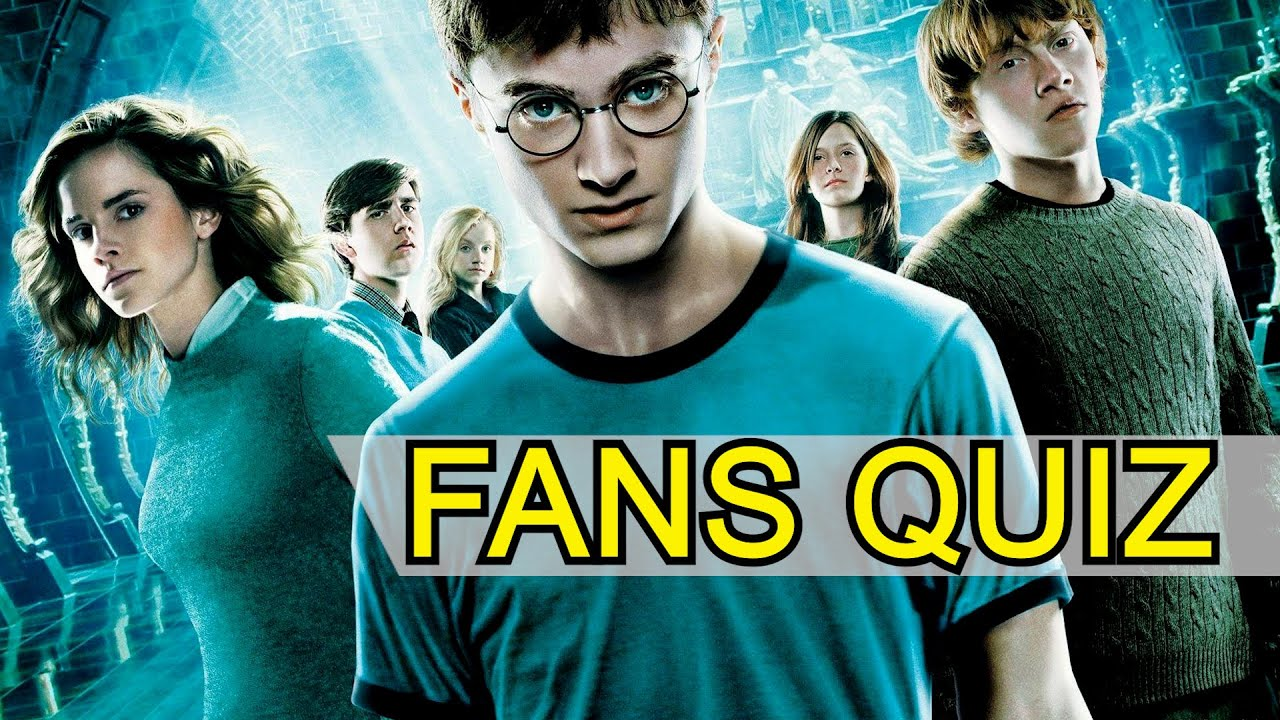 Harry Potter Film Quiz