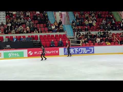 20181104 Helsinki Grand Prix - Yuzuru Hanyu OP Run Through - Origin (another angle)