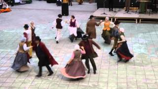 Belgian folk dance: De Loere