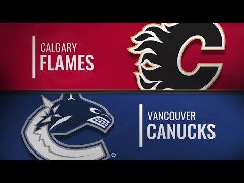 Flames vs Canucks   Feb 9,  2019