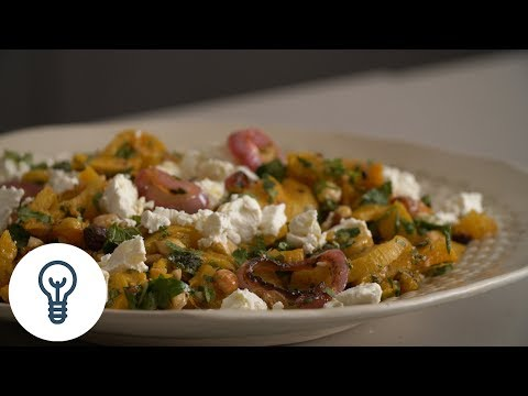 Dan Kluger's Roasted Butternut Squash with Spicy Onions | Genius Recipes