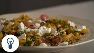 Dan Kluger&#39s Roasted Butternut Squash with Spicy Onions  Genius Recipes