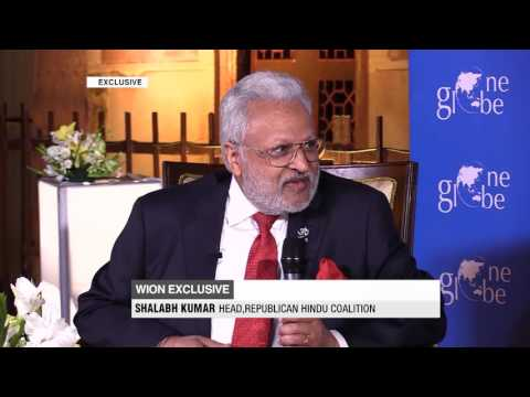 Shalabh Kumar in conversation with WION at One Globe Forum 2017