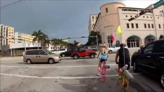 Cyclists behaving badly.