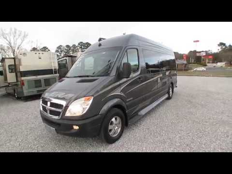 SOLD! 2009 Winnebago ERA Limited 170 Class B Camper Van, 2500 Sprinter, Mercedes Diesel, $54,900