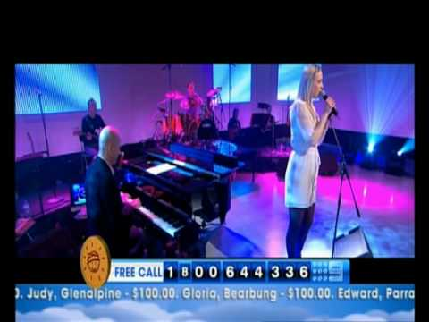 "Catherine Britt sings ""Where Do You Go?"" live on Telethon"