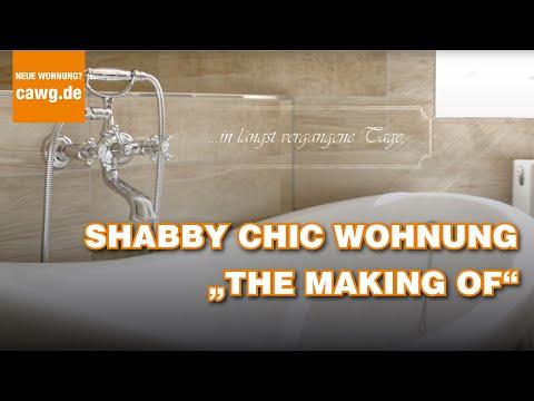 Shabby Chic Flats - so entstehen die Wohnungen im Vintage-Style