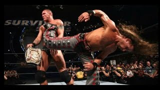 Shawn Michaels Vs Randy Orton - Highlights - Survivor Series 2007 - (HD)