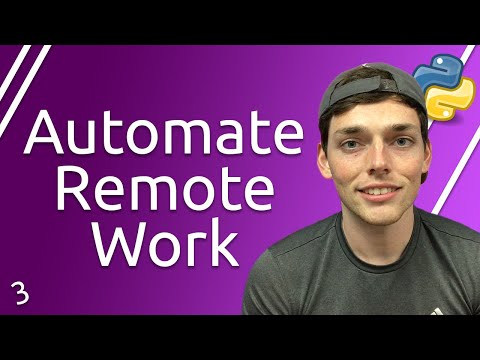 Python Automation for Remote Workers Series | Using APIs