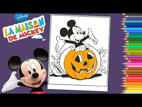 Coloring Mickey Mouse Clubhouse Coloring Pages Coloriage
