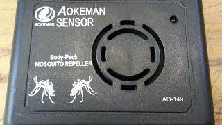 ремонт ультразвукового отпугивателя комаров