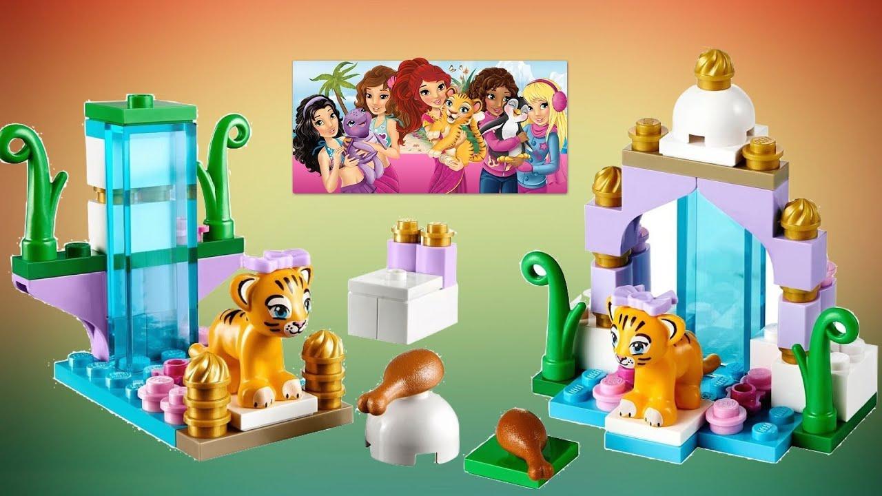 Lego Friends Animals : Tigeru0027s Beautiful Temple 레고프렌즈 Bạn Bè Lego Lego  друзья أصدقاء ليغو 玩具   YouTube