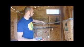 Chicken Coop Tour - Design Ideas For Easy Care  Pt 2