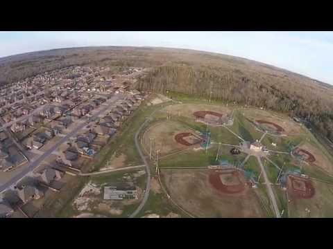 DJI Drone Aerial Footage North Little Rock Arkansas 2015